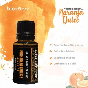 Aceite Esencial Naranja Dulce